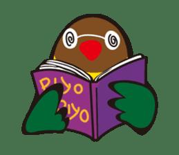 Masked lovebird & Toco Toucan sticker #269940