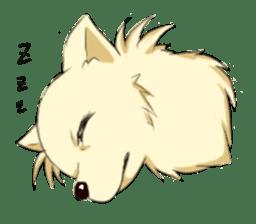 Long Coat Chihuahua sticker #270153