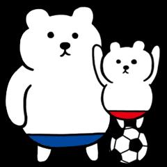 Polar Bear Parent and Child