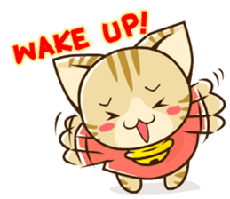 SUZU-NYAN2 (English) sticker #270635