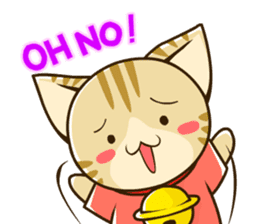 SUZU-NYAN2 (English) sticker #270643