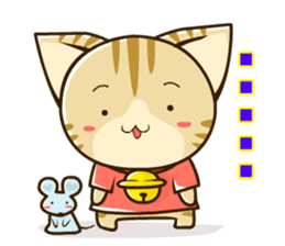 SUZU-NYAN2 (English) sticker #270650