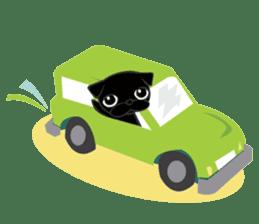 Black Pug DOM sticker #271121