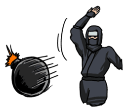 Ninja sticker #271209