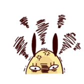 Rabbit egg Dani sticker #271246
