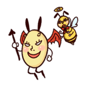 Rabbit egg Dani sticker #271257