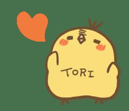 TORI sticker #271957