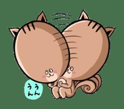 Friendly squirrel sticker #272066