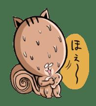 Friendly squirrel sticker #272070
