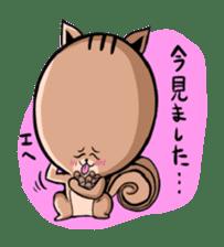 Friendly squirrel sticker #272084