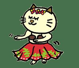 Cosplay cat Sirena sticker #272188