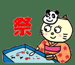 Cosplay cat Sirena sticker #272191
