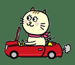 Cosplay cat Sirena sticker #272193