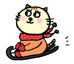 Cosplay cat Sirena sticker #272196