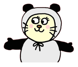 Cosplay cat Sirena sticker #272197