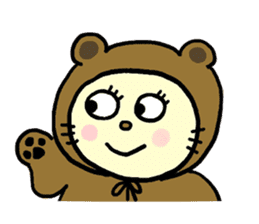 Cosplay cat Sirena sticker #272200