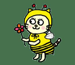 Cosplay cat Sirena sticker #272201