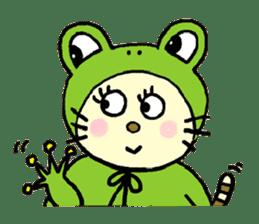 Cosplay cat Sirena sticker #272202