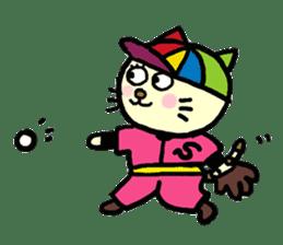 Cosplay cat Sirena sticker #272206