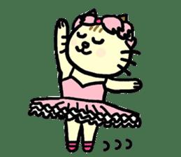 Cosplay cat Sirena sticker #272210