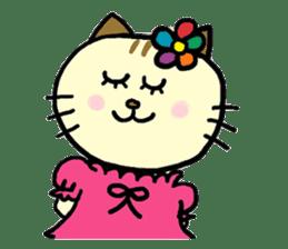 Cosplay cat Sirena sticker #272213