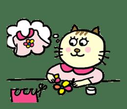 Cosplay cat Sirena sticker #272214