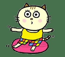 Cosplay cat Sirena sticker #272215