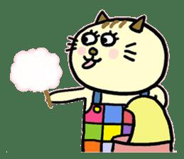Cosplay cat Sirena sticker #272216