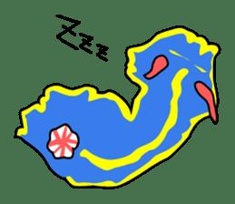 Only blue sea slug(vol.1) sticker #272948