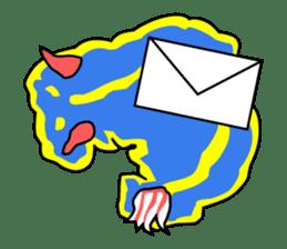 Only blue sea slug(vol.1) sticker #272951