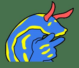 Only blue sea slug(vol.1) sticker #272954