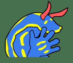 Only blue sea slug(vol.1) sticker #272955