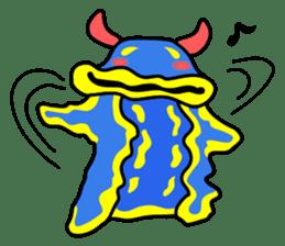 Only blue sea slug(vol.1) sticker #272958