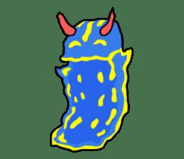 Only blue sea slug(vol.1) sticker #272959