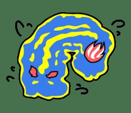Only blue sea slug(vol.1) sticker #272968