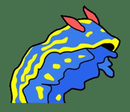 Only blue sea slug(vol.1) sticker #272969