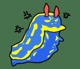 Only blue sea slug(vol.1) sticker #272970