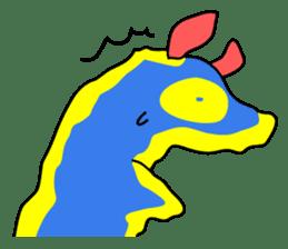 Only blue sea slug(vol.1) sticker #272974