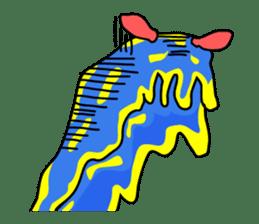 Only blue sea slug(vol.1) sticker #272976