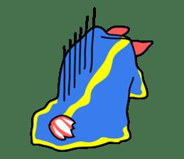Only blue sea slug(vol.1) sticker #272981