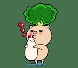broccoli sticker #273027
