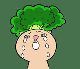 broccoli sticker #273044