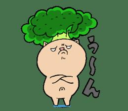 broccoli sticker #273052