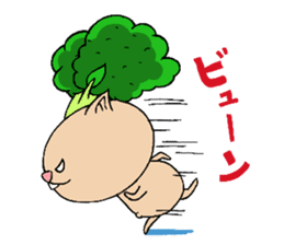 broccoli sticker #273055