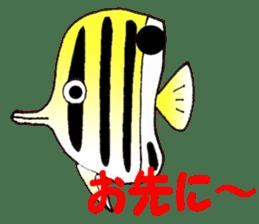 FISH shop sticker #273103