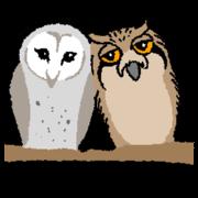 สติ๊กเกอร์ไลน์ OwlandOwl