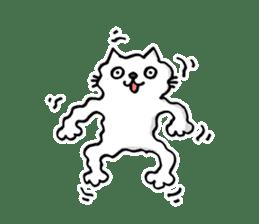 Amoeba Cat sticker #273709