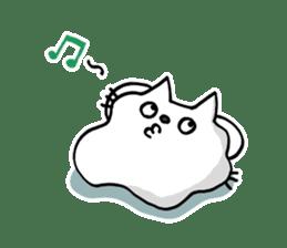 Amoeba Cat sticker #273710