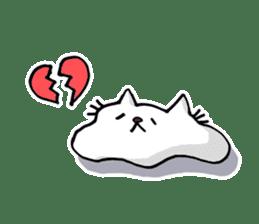 Amoeba Cat sticker #273713