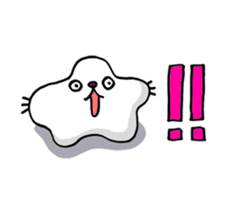Amoeba Cat sticker #273715